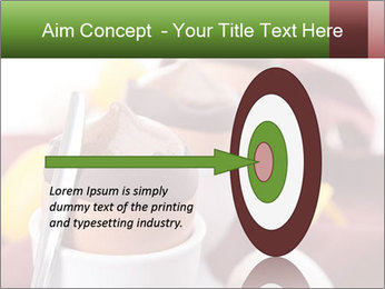 Chocolate mousse PowerPoint Template - Slide 83