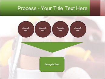Chocolate mousse PowerPoint Template - Slide 93