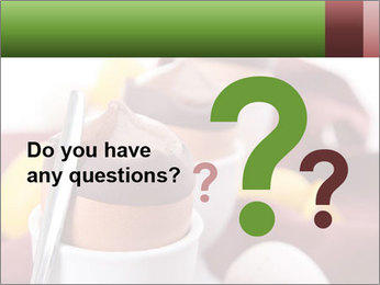 Chocolate mousse PowerPoint Templates - Slide 96