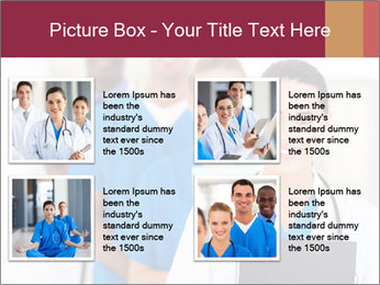 Group of health care workers PowerPoint Templates - Slide 14