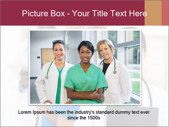 Group of health care workers PowerPoint Template - Slide 15