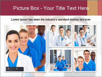 Group of health care workers PowerPoint Template - Slide 19