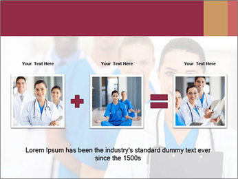 Group of health care workers PowerPoint Templates - Slide 22
