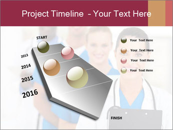 Group of health care workers PowerPoint Template - Slide 26