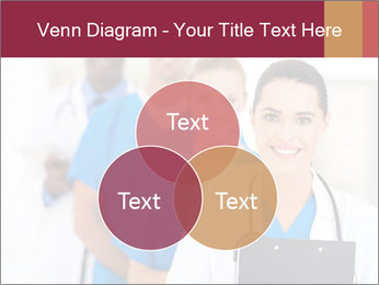 Group of health care workers PowerPoint Template - Slide 33