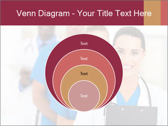 Group of health care workers PowerPoint Templates - Slide 34