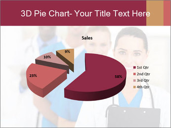 Group of health care workers PowerPoint Templates - Slide 35