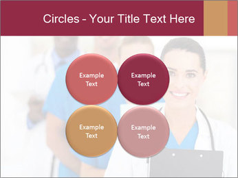 Group of health care workers PowerPoint Templates - Slide 38