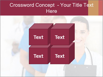 Group of health care workers PowerPoint Templates - Slide 39