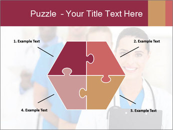 Group of health care workers PowerPoint Template - Slide 40