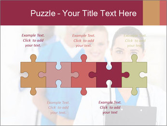 Group of health care workers PowerPoint Templates - Slide 41