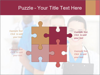 Group of health care workers PowerPoint Template - Slide 43