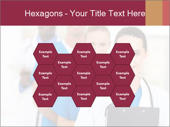 Group of health care workers PowerPoint Templates - Slide 44