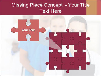 Group of health care workers PowerPoint Templates - Slide 45