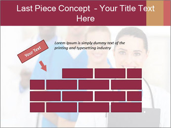 Group of health care workers PowerPoint Template - Slide 46