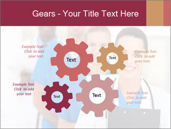 Group of health care workers PowerPoint Templates - Slide 47