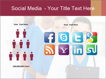 Group of health care workers PowerPoint Template - Slide 5