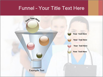 Group of health care workers PowerPoint Templates - Slide 63