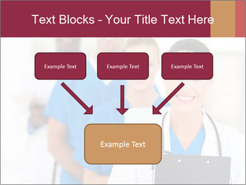 Group of health care workers PowerPoint Templates - Slide 70