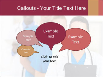 Group of health care workers PowerPoint Template - Slide 73