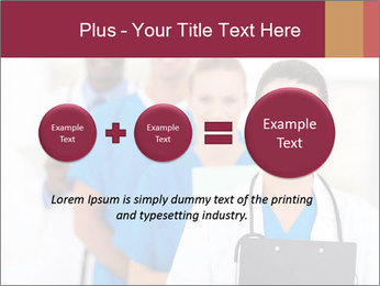 Group of health care workers PowerPoint Templates - Slide 75