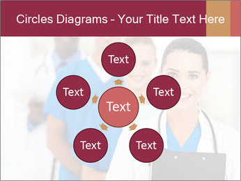 Group of health care workers PowerPoint Template - Slide 78