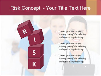 Group of health care workers PowerPoint Templates - Slide 81
