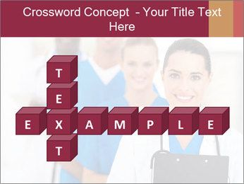 Group of health care workers PowerPoint Templates - Slide 82