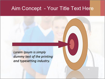 Group of health care workers PowerPoint Template - Slide 83