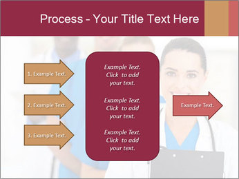 Group of health care workers PowerPoint Templates - Slide 85