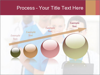 Group of health care workers PowerPoint Templates - Slide 87