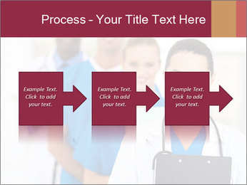 Group of health care workers PowerPoint Templates - Slide 88