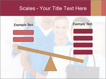 Group of health care workers PowerPoint Templates - Slide 89