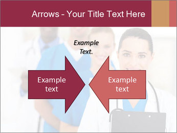 Group of health care workers PowerPoint Templates - Slide 90