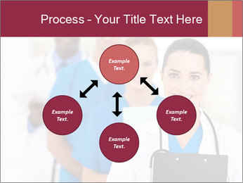 Group of health care workers PowerPoint Templates - Slide 91
