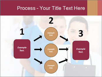 Group of health care workers PowerPoint Templates - Slide 92