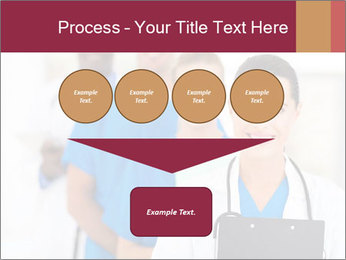 Group of health care workers PowerPoint Templates - Slide 93