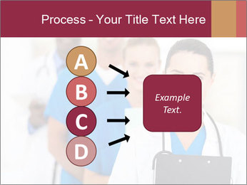 Group of health care workers PowerPoint Template - Slide 94