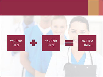 Group of health care workers PowerPoint Template - Slide 95