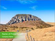 Hallasan mountain PowerPoint Templates