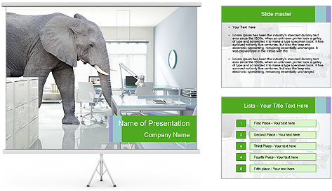Elephant PowerPoint Template