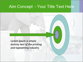 Elephant PowerPoint Template - Slide 83