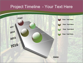 Wooden road PowerPoint Templates - Slide 26