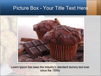 Chocolate muffin PowerPoint Template - Slide 15