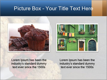 Chocolate muffin PowerPoint Template - Slide 18