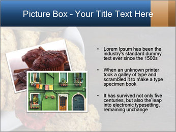 Chocolate muffin PowerPoint Template - Slide 20
