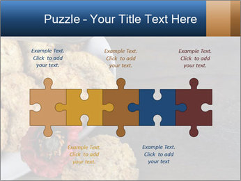 Chocolate muffin PowerPoint Template - Slide 41