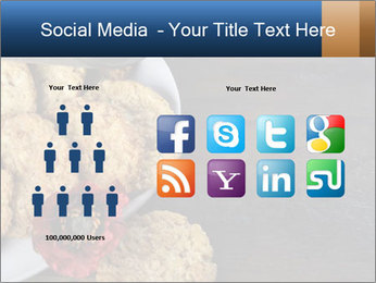 Chocolate muffin PowerPoint Template - Slide 5
