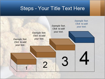 Chocolate muffin PowerPoint Template - Slide 64