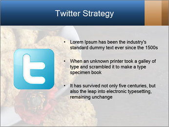 Chocolate muffin PowerPoint Template - Slide 9